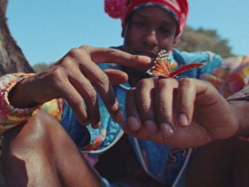 A $ AP Rocky umarmt inneren Hippie bei Kindern Es stellte sich heraus, feines Video