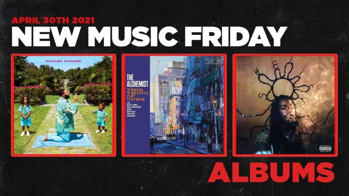Neue Musik Freitag - Neue Alben von DJ Khaled, Shelley FKA DRAM, The Alchemist + More