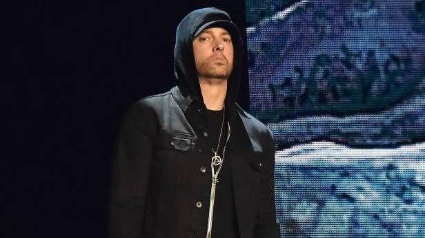 Nýjasti stærsti listi rappara Eminem inniheldur Nas, Rakim, Treach, Redman, Big Daddy Kane og Kool G Rap