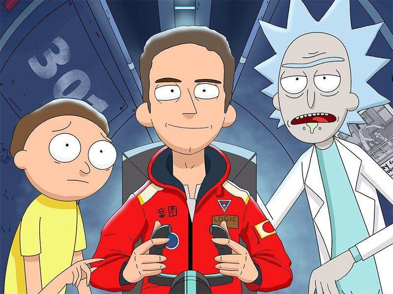Beobachten Sie, wie Logic intergalaktische Balken auf 'Rick And Morty' fallen lässt