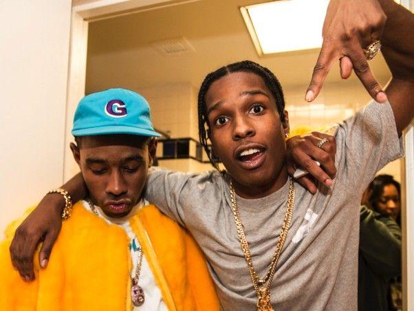 A $ AP Rocky fordert Tyler heraus, den Schöpfer eines Go-Kart-Rennens