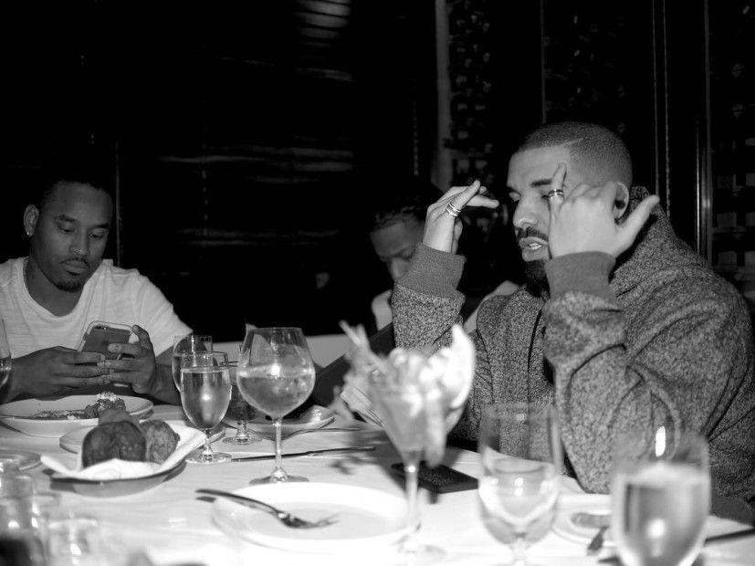 Drake Dines With Former WorldStarHipHop Honey Rosee Divine