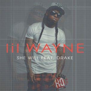 Lil Wayne enthüllt Cover Art für Single 'She Will' mit Drake