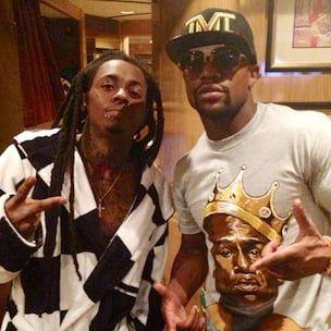 Lil Wayne affronte l'entraîneur de Marcos Maidana après le combat de Floyd Mayweather