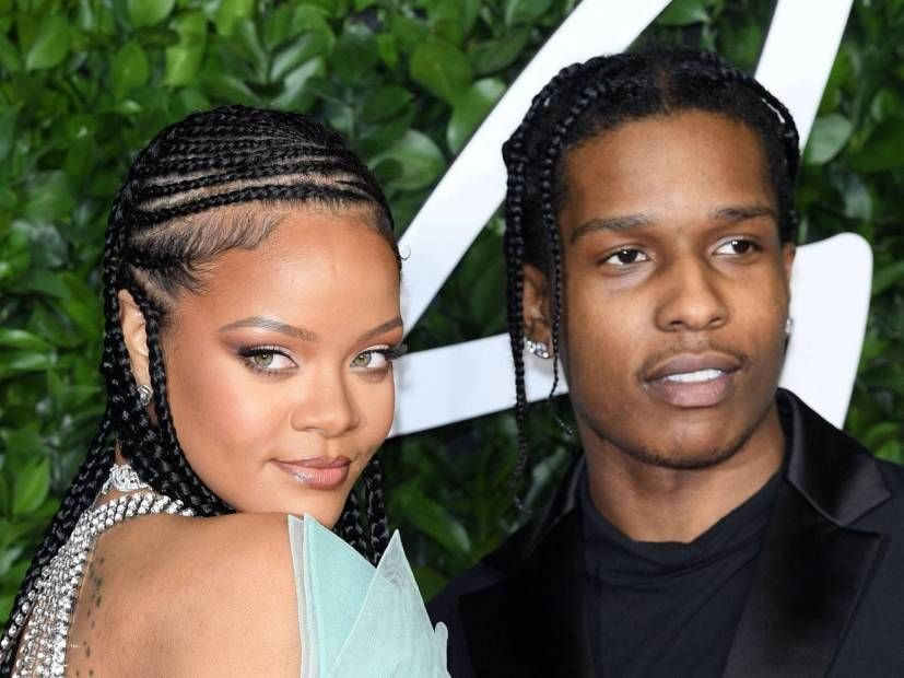 Twitter kan ikke håndtere A $ AP Rocky & Rihanna Dating Ryktene