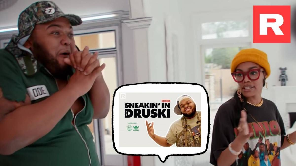 Snoop Dogg, Teyana Taylor, Yung Miami Star i adidas & REVOLT TVs 'Sneakin' In w / Druski