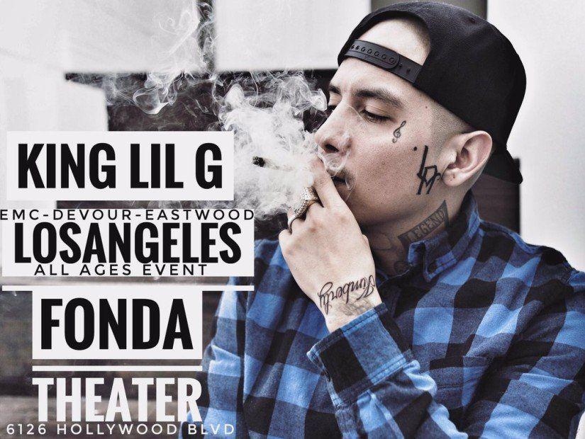 Ticket-Werbegeschenk: König Lil G lebt in Los Angeles