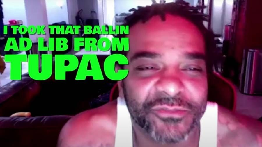 Jim Jones nahm seine 'Ballin'-Ad-Lib von Tupac Shakur für den Nr. 1-Rap-Song' We Fly High