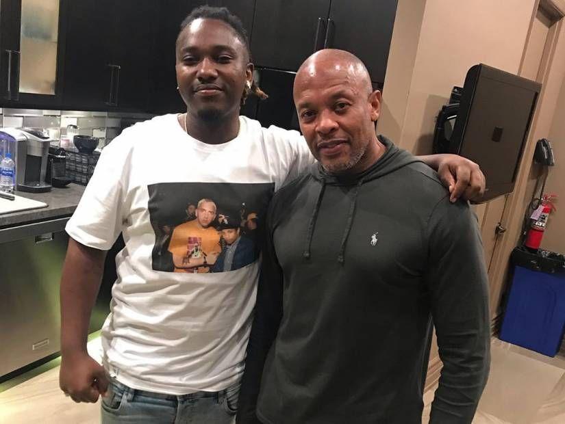 Osbe Chill ließ sein Dr. Dre-Co-Sign an 'Born To Rap' des Spiels arbeiten.