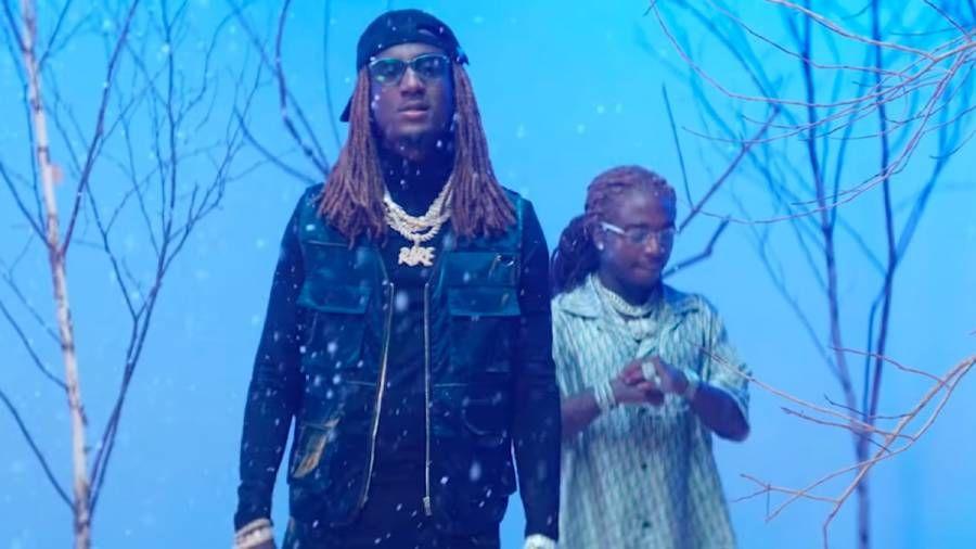 K Camp & Jacquees lässt es in Musikvideos 'What's On Your Mind' in Innenräumen schneien
