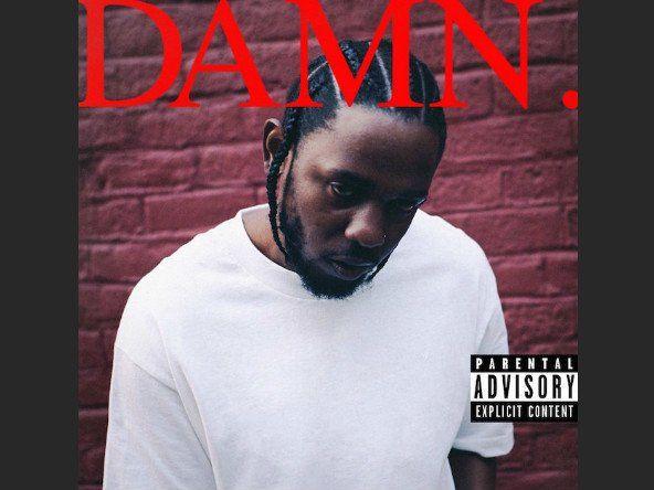 'DAMN' eftir Kendrick Lamar. Grafískur hönnuður ver listaverk listaverkanna