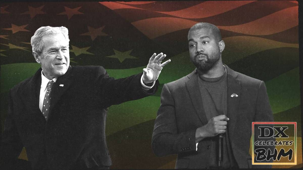Le moment «George Bush ne se soucie pas des Noirs» de Kanye West était que le hip-hop maximisait sa plate-forme