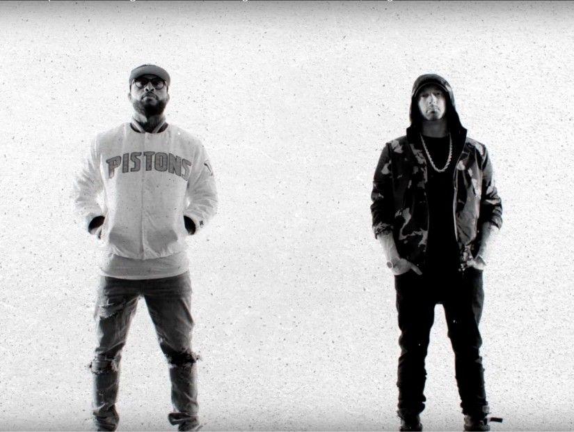 Royce Da 5'9 & Eminem Lyrically Spaz In 'Caterpillar' Video