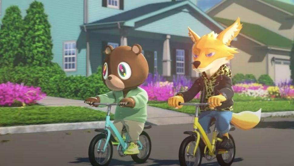 Kanye West və Kid Cudi Tease 'Uşaqlar Ghosts Görürlər' Cizgi Şousu '4. Ölçü' olaraq təyin olundu