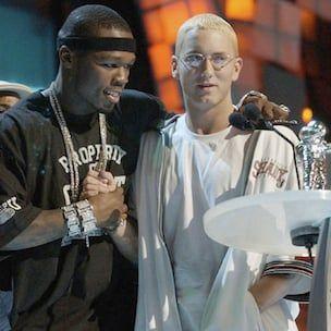"""""""50 Cent"""" sako, kad """"Eminem"""" bendradarbiavimo čempionai pateks į """"Street King Immortal"""""""
