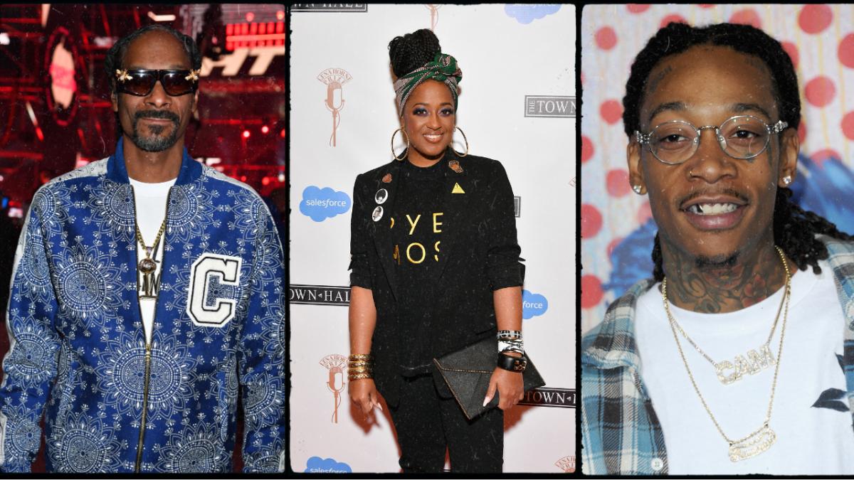 Rapsody Sensibilisierung mit Snoop Dogg & Wiz Khalifa - ohne Raucher zu sein
