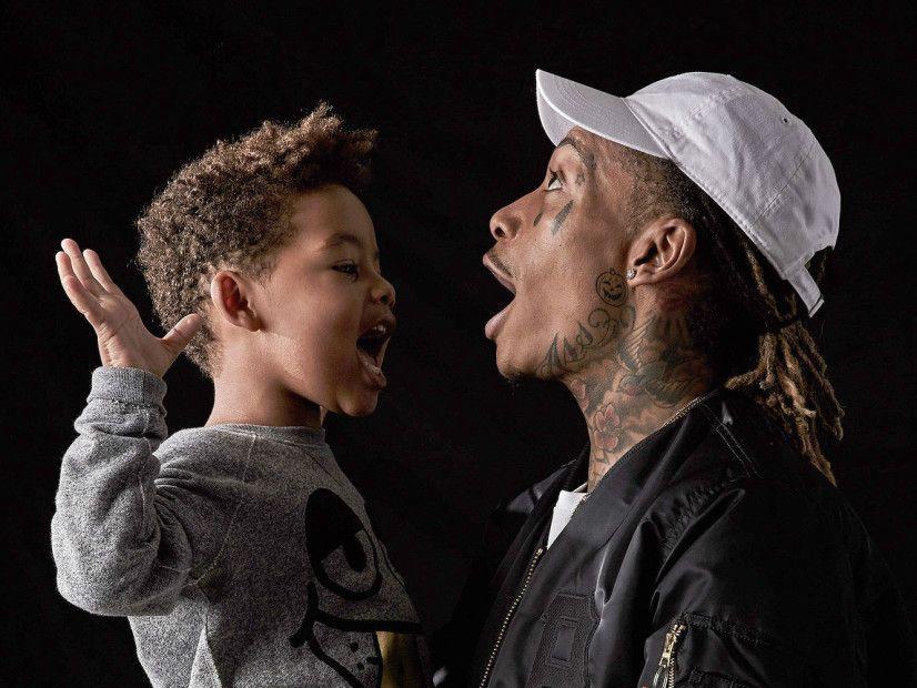Wiz Khalifa veröffentlicht 'BASH' Clothing Line zu Ehren seines Sohnes Sebastian