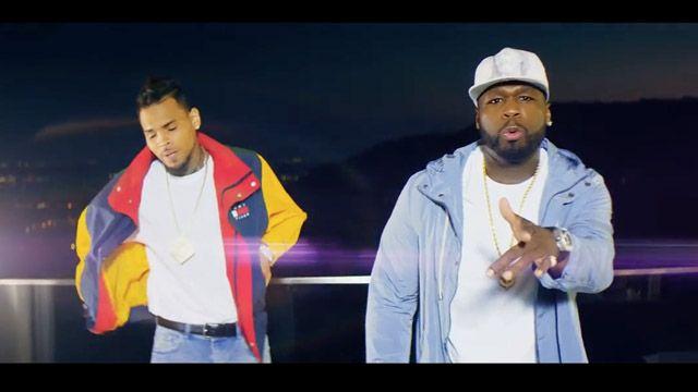 50 Cent & Chris Brown Lassen Sie die Hasser wissen, dass ich der Mann mit Kandypens bin