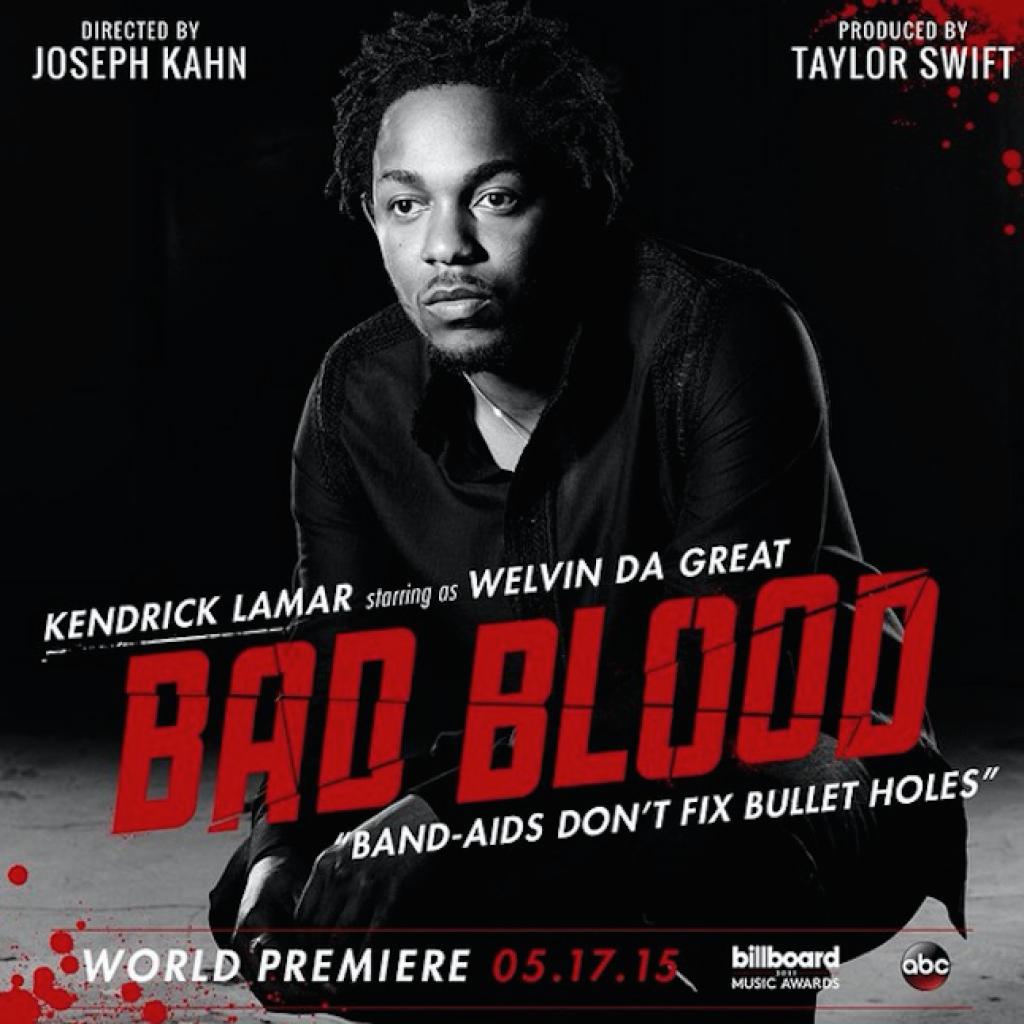 """Kendrick Lamar að leika Welven Da Great í """"Bad Blood"""" myndbandi Taylor Swift"""