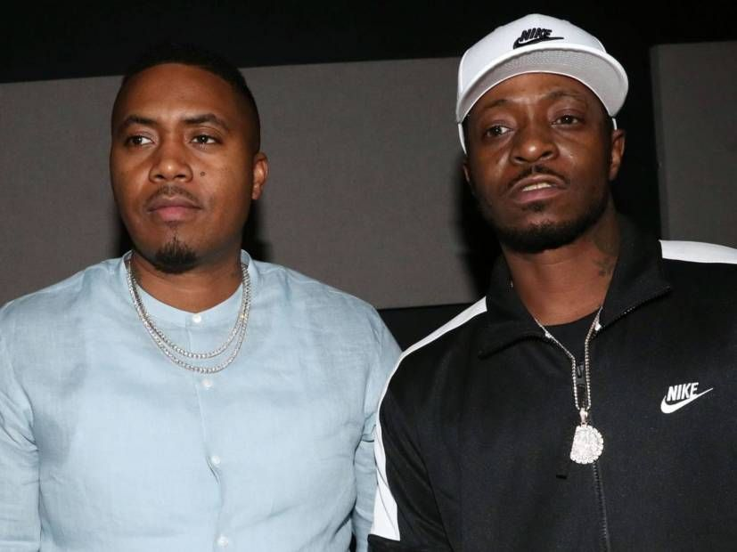 Nas & Jungle Mourn Kiing Shooter's Death