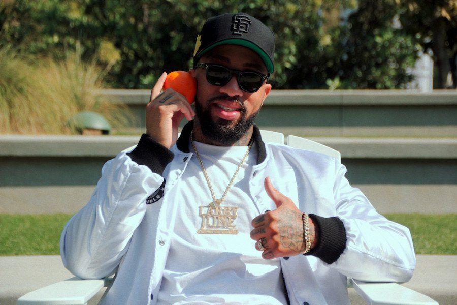 Larry June développe sa carrière musicale et sa propre marque d'oranges