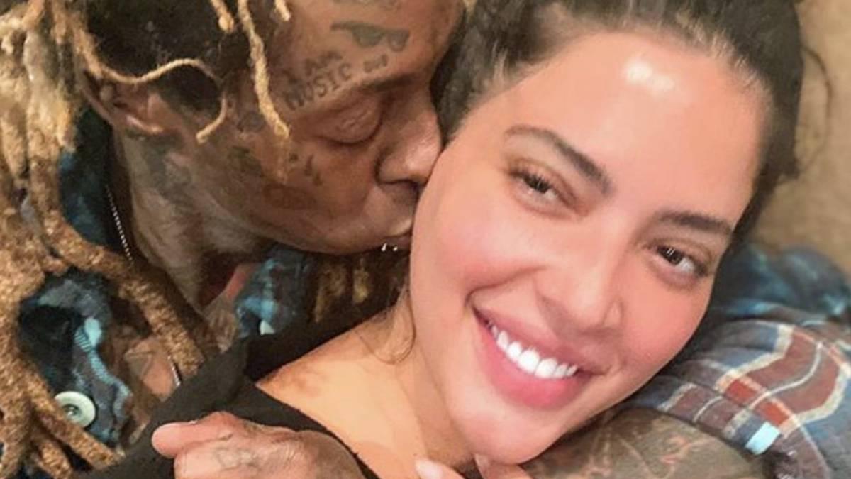 Lil Wayne gifter seg offisielt med modell i større størrelse Denise Bidot: 'Happiest Man Alive!