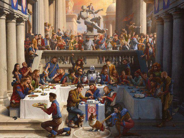 Logic veröffentlicht 'Everybody'-Album mit einer Reihe von Gastfunktionen