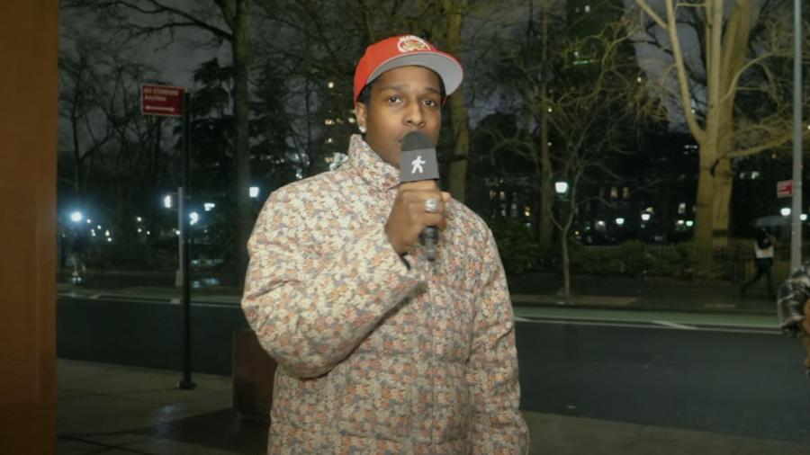 A $ AP Rocky förhandsgranskar icke-släppt musik vid A $ AP Mob's Virtual Yams Day 2021