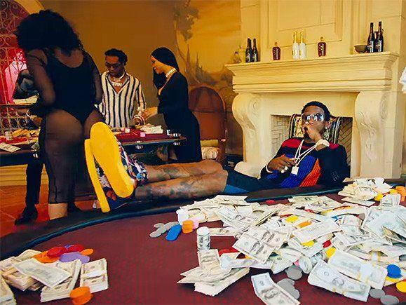 Hip Hop Single Sales: Gucci Mane erreicht mit 'I Get The Bag' mit Migos neue Höhen