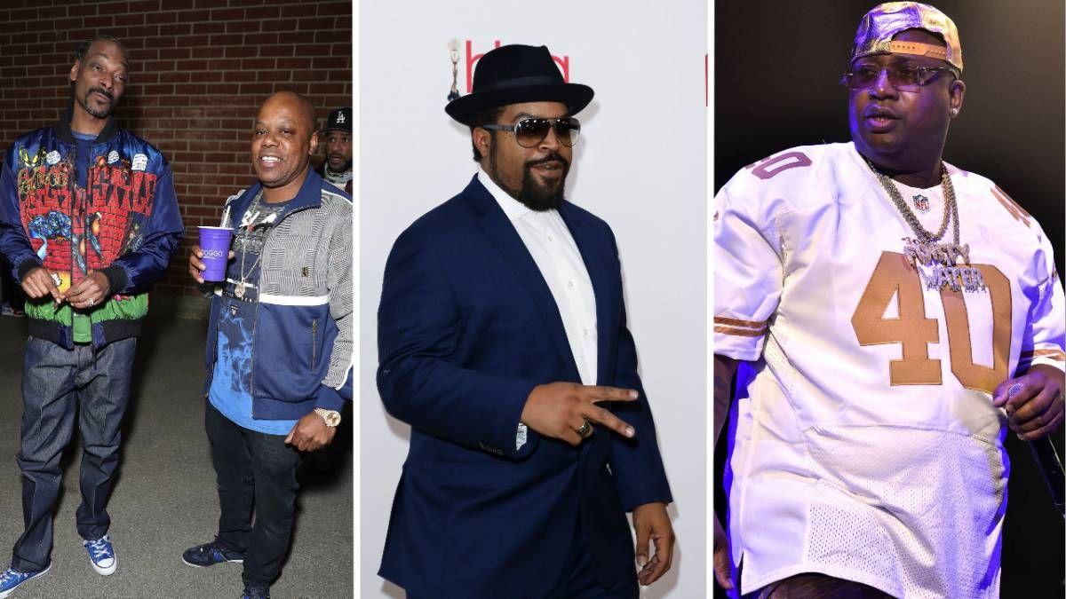 Snoop Dogg, Ice Cube, Too $ hort & E-40 Post Mt. Westmore grafisk på Instagram når debutdatoen nærmer seg
