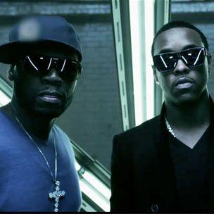 """50 Cent og Jeremih fá platínuplatta fyrir """"Down On Me"""""""