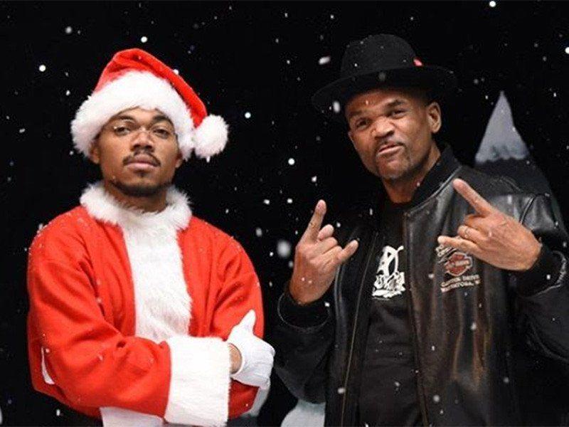 Chance Rapperen fejrer sidste jul under præsident Obama på 'Saturday Night Live