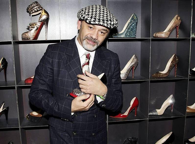 Christian Louboutin sagt, er sei 'vage entsetzt', als er bei manchen Menschen seine Schuhe sehe