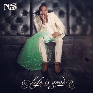 Nas diskuterer Kelis 'reaksjon på hennes brudekjole på 'Life Is Good' Cover Art