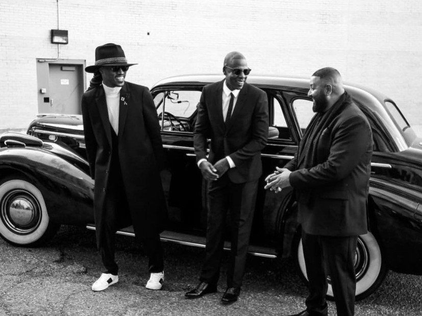Jay Z, Future & DJ Khaled drehen das Musikvideo 'I Got The Keys