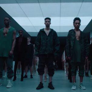 Kanye West präsentiert die adidas 'Yeezy Season 1' Kollektion