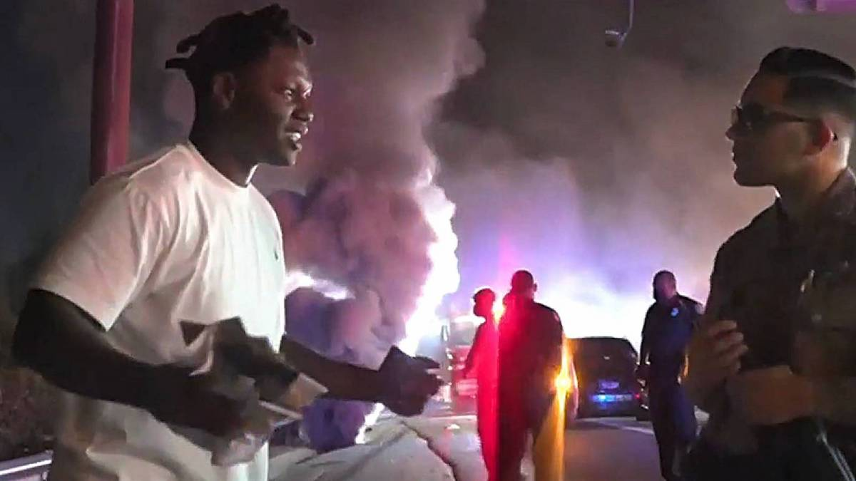 Der Dream Chasers-Künstler von Meek Mill entkommt dem Tod im feurigen Miami-Crash