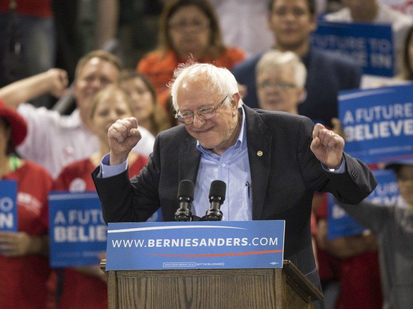 Bernie Sanders 'DMX-Endorsement als Betrug entdeckt