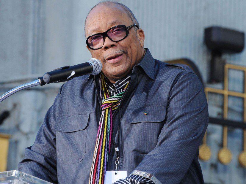 Quincy Jones Ledsen för inflammatoriska kommentarer i senaste intervjuer