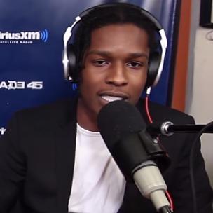 En $ AP Rocky forsvinder spøg 50 cent under sving om morgenen freestyle