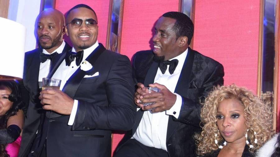 Diddy trifft sich wieder mit Nas & Mary J. Blige für die Geburtstagsfeier von Turks & Caicos