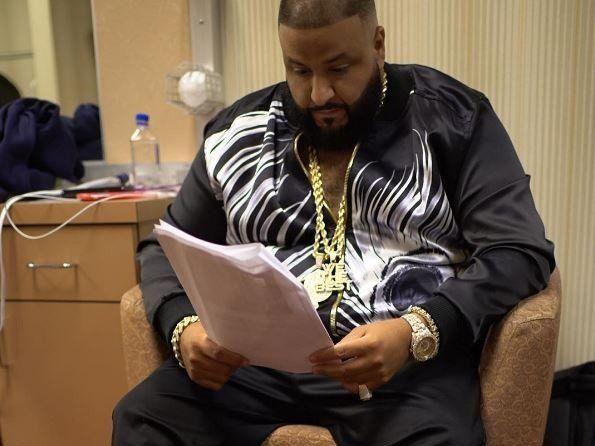 DJ Khaled grípur Words of Wisdom frá Jay Z & Puff Daddy fyrir bókina 'The Keys