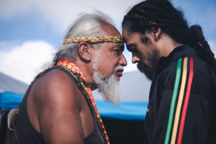 Дамиан Марлеи солидарише се са хавајским старешинама да протестују због пројекта телескопа вредног 1,4 милијарде долара