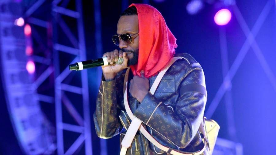 A $ AP Rocky, Wiz Khalifa & Juicy J Pull Up To The Studio Masked Up