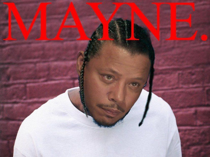 Terrence Howard 'Mayne' Memes er að ljúka 2017 með A 'LMAO