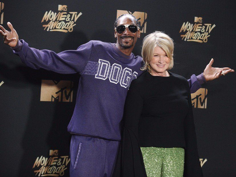 Snoop Dogg vergleicht Martha Stewarts Gangsta mit Tekashi 6ix9ines