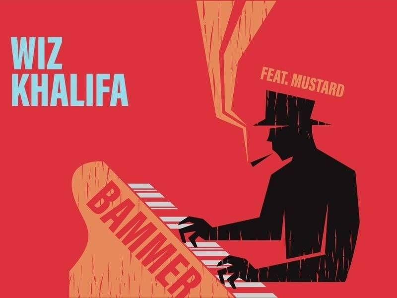 Wiz Khalifa arbeitet mit Senf an der Single 'Bammer' zusammen