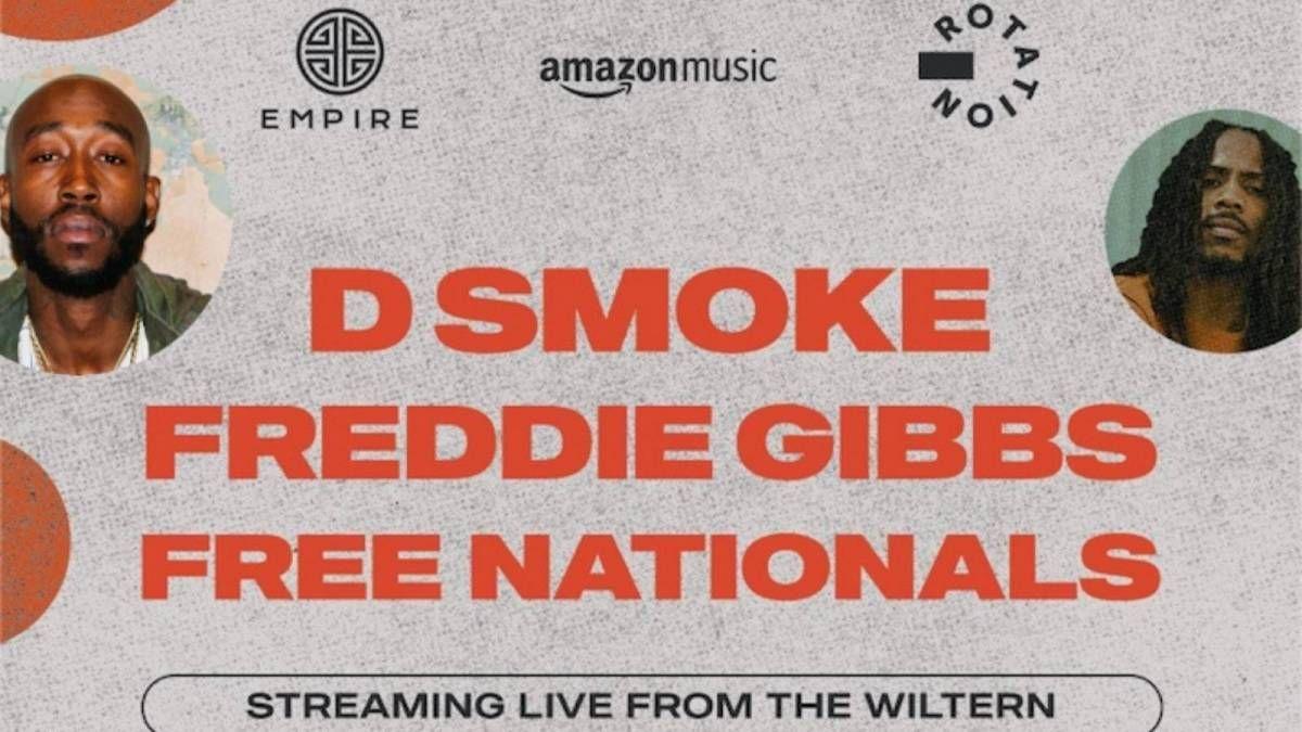 2021 Beste rap-album Grammy-nominerte Freddie Gibbs & D Smoke kunngjør live show med EMPIRE og Amazon Musics rotasjon