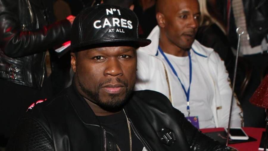 50 Cent Deads jede Möglichkeit eines Floyd Mayweather-Kampfes - während er für sein Buch wirbt