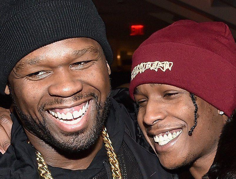 50 Cent steiktir $ AP Rocky á Instagram - og fær ristaðan hægri bakvörð